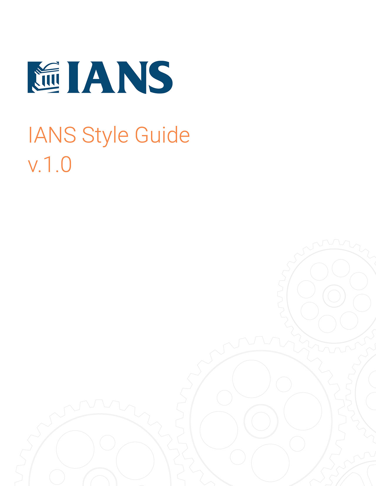 IANS Style Guide